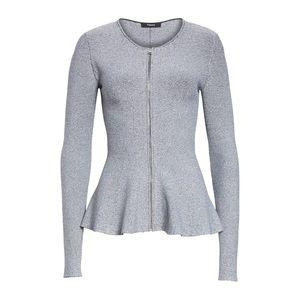 Theory peplum jacket top